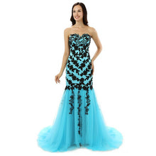 Load image into Gallery viewer, MERMAID GARDEN Formal Tulle Dress