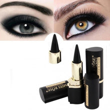 Load image into Gallery viewer, Black Gel Eyeliner Stick Smooth Easywear Eyes Makeup Waterproof Long Lasting