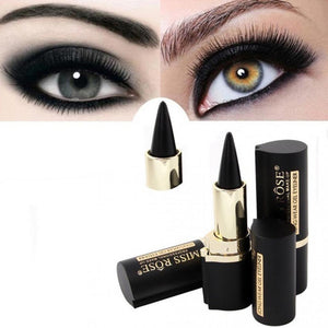 Black Gel Eyeliner Stick Smooth Easywear Eyes Makeup Waterproof Long Lasting