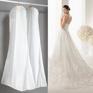 Extra Large Garment Bridal Gown Long Clothes Protector Case Wedding Dress Cover Dustproof Covers Storage Bag Hot Sale