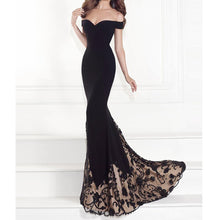 Load image into Gallery viewer, Women Sexy Elegant Maxi Dress A-line Floor Length Party Dress Prom Dress