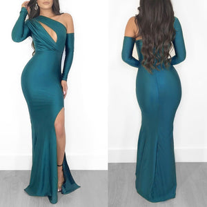 Women's Fashion Dress Sexy Elegant Floor Length Party Dress Prom Dress