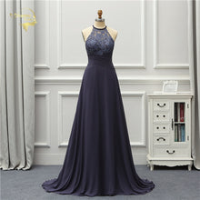 Load image into Gallery viewer, HALTER JEANNE LOVE Prom Dress