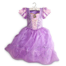 Load image into Gallery viewer, Princess Flower Girl Dress 4 Colors Summer 2017 Wedding Birthday Party Dresses For Girls Children's Costume Teenager Prom Design