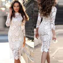 Load image into Gallery viewer, PRESIDENTIAL LACE Bodycon Dress