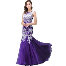 Load image into Gallery viewer, Mermaid Long Tulle Evening/Prom Dress