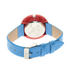 Crayo Prestige Unisex Watch - Cerulean/Red