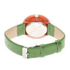 Crayo Prestige Unisex Watch - Orange/Green