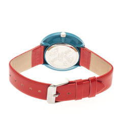 Crayo Prestige Unisex Watch - Teal/Red