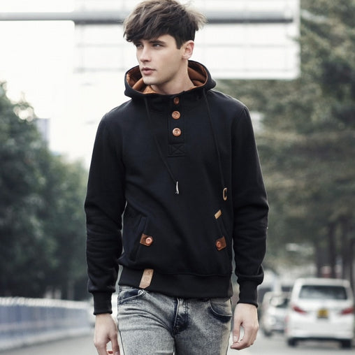 2019 New Cotton Pullover Male Hoody fashion Sportswear sweatshirt hoody High Quality Casual men coat hiver hoodies hommes G023