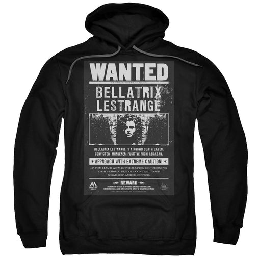 Harry Potter - Wanted Bellatrix Adult Pull Over Hoodie