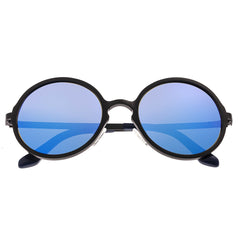Breed Corvus Aluminium Polarized Sunglasses - Black/Blue