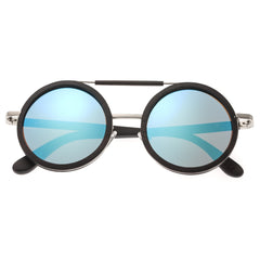 Earth Wood Bondi Polarized Sunglasses - Espresso/Blue