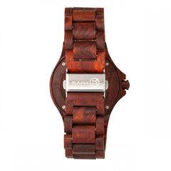 Earth Wood Gila Bracelet Watch w/Magnified Date - GENT.ONE