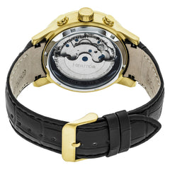 Heritor Automatic Hannibal Semi-Skeleton Leather-Band Watch - GENT.ONE