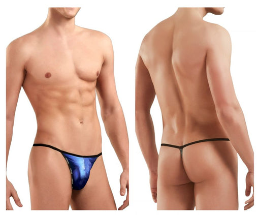 Doreanse 1326-RBL Flashy G-String Color Royal Blue