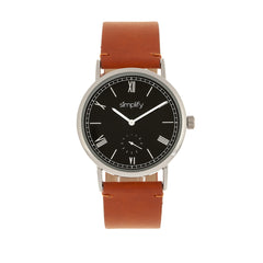Simplify The 5100 Leather-Band Watch