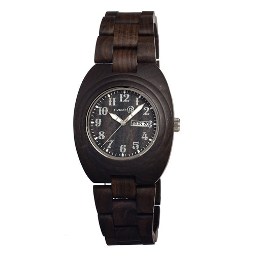 Earth Wood Hilum Bracelet Watch w/ Day/Date