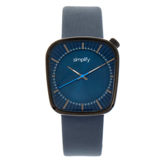 Simplify The 6800 Leather-Band Watch