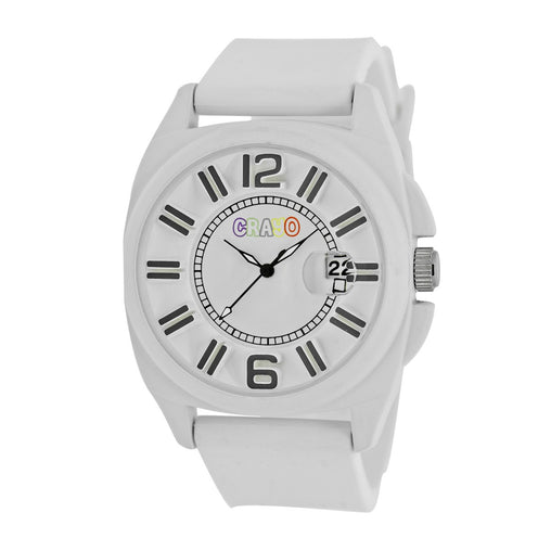 Crayo Sunset Unisex Watch w/Magnified Date