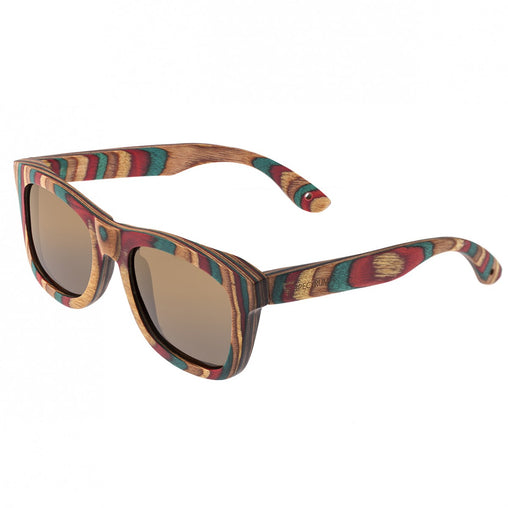 Spectrum Moriarty Wood Polarized Sunglasses