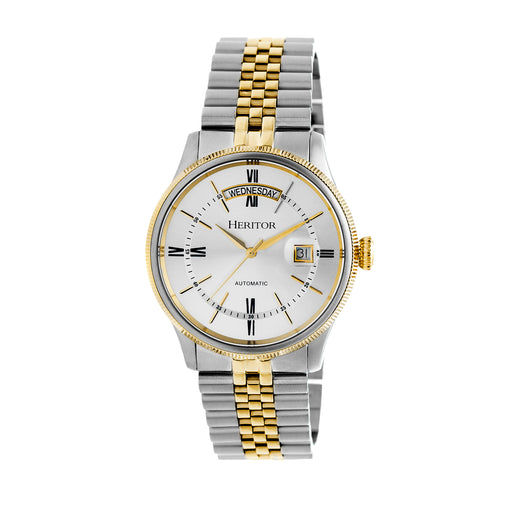 Heritor Automatic Vernon Bracelet Watch w/Day/Date