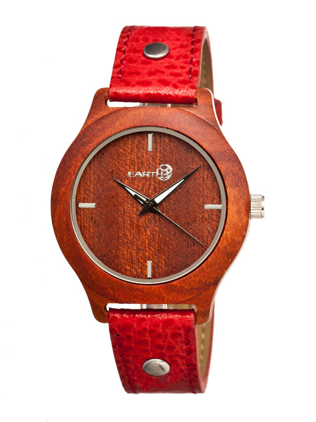 Earth Wood Tannins Leather-Band Watch