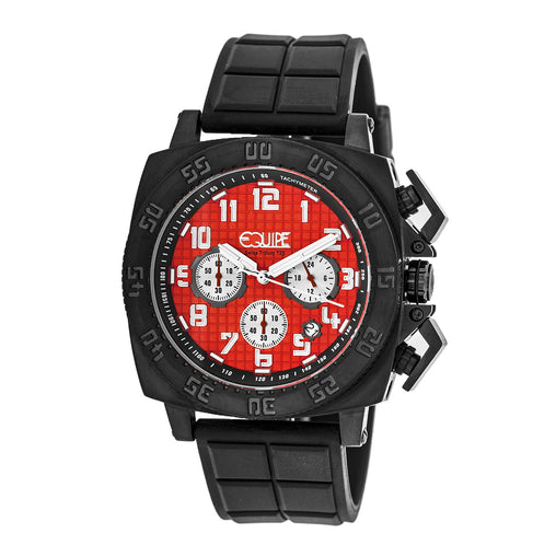 Equipe Tritium Push Chronograpgh Mens Watch w/ Date