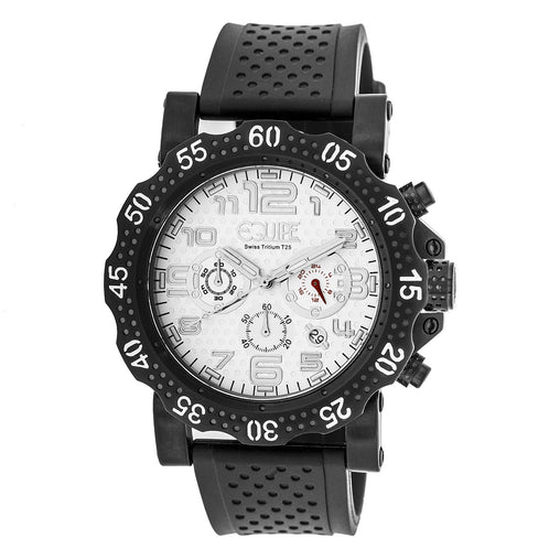 Equipe Tritium Rivet Chronograph Mens Watch w/ Date