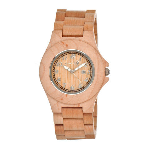 Earth Wood Xylem Bracelet Watch w/ Date