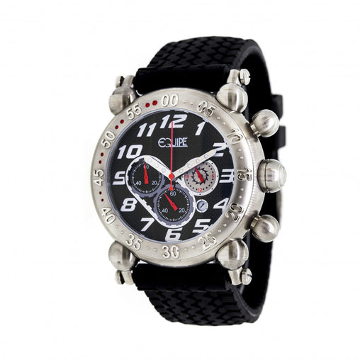 Equipe Balljoint Chronograph Mens Strap Watch w/ Date