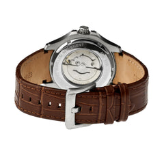 Heritor Automatic Norton Leather-Band Watch w/Date - GENT.ONE