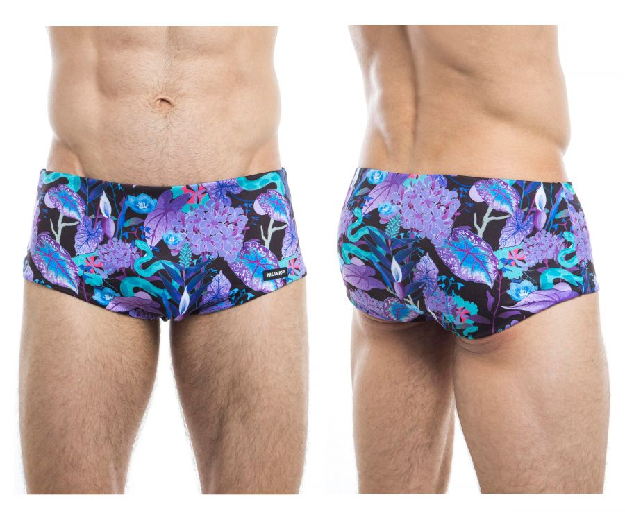 HUNK2 ST20191C Natter² Reversible Swim Trunks
