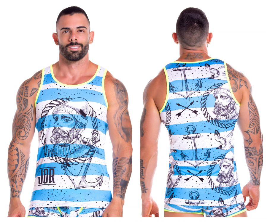 JOR 0877 Captain Tank Top