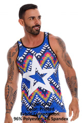 JOR 1002 Tribal Tank Top
