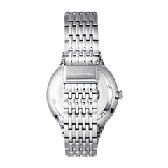 Morphic M65 Series Bracelet Watch w/Day/Date - Silver/Green