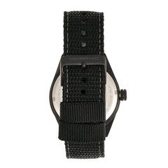 Morphic M69 Series Canvas-Band Watch - Black