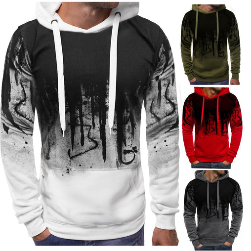 New autumn winter hoodies men Camouflage sweatshirt fashion casual cotton pullover hooded sweatshirt printing man sweatshirt F10