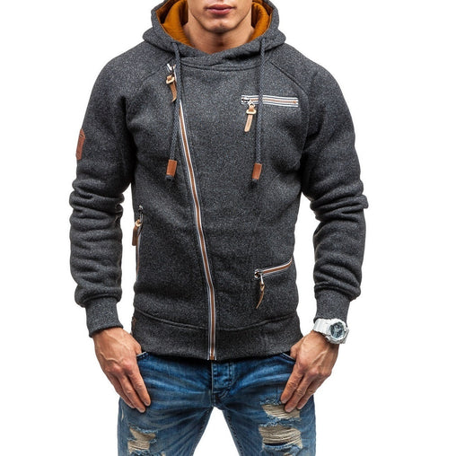 New fashion Winter Men Sport zipper Hoodies Running Jacket Hooded Sweatshirt Fitness Hiking Camping Gym Hooded Sportswear T111