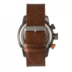 Breed Manuel Chronograph Leather-Band Watch w/Date - GENT.ONE