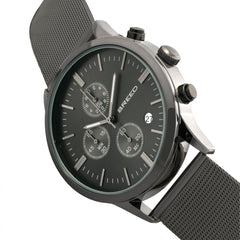 Breed Espinosa Chronograph Mesh-Bracelet Watch w/ Date - GENT.ONE