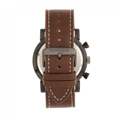 Breed Ryker Chronograph Leather-Band Watch w/Date - GENT.ONE