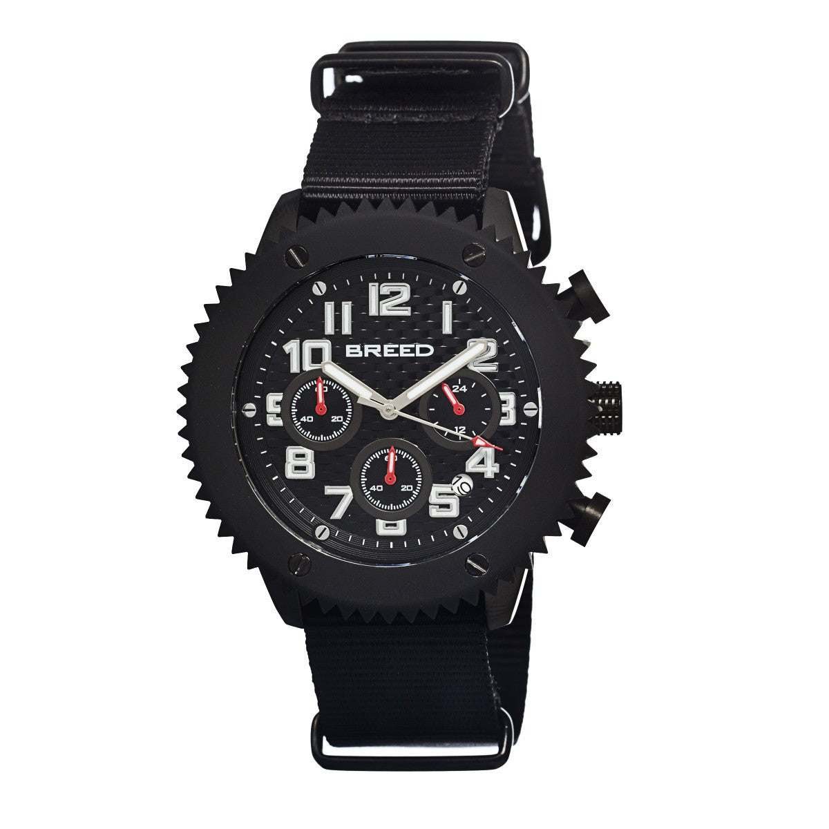 Breed Decker Nylon-Band Chronograph Men's Watch - GENT.ONE