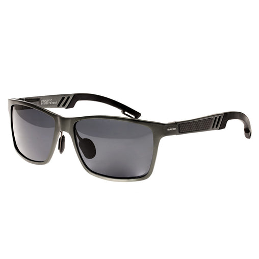 Breed Pyxis Titanium Polarized Sunglasses - Black/Black