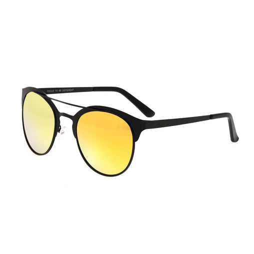 Breed Phoenix Titanium Polarized Sunglasses - Black/Yellow