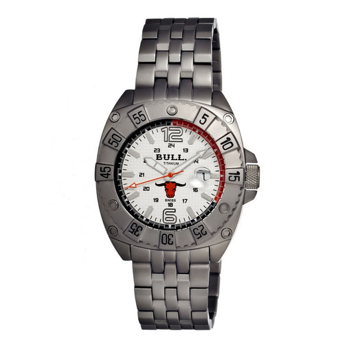 Bull Titanium Robust Men's Swiss Bracelet Watch - GENT.ONE