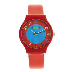 Crayo Jubilee Strap Watch - Red