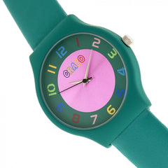 Crayo Jubilee Strap Watch - Teal