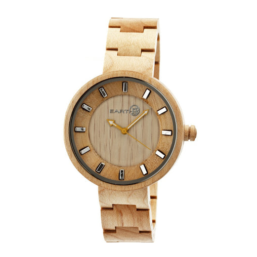 Earth Wood Root Bracelet Watch - Khaki/Tan