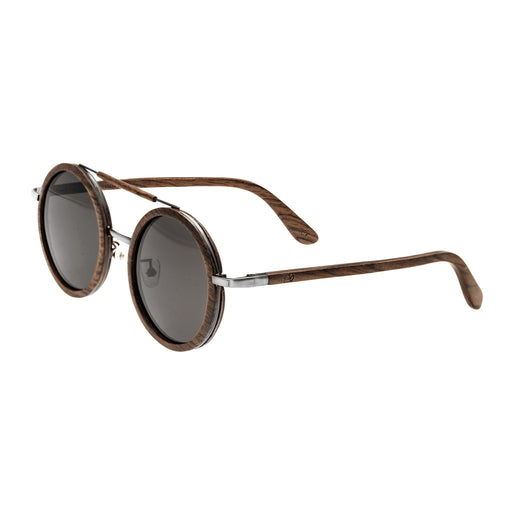 Earth Wood Bondi Polarized Sunglasses - Brown/Black